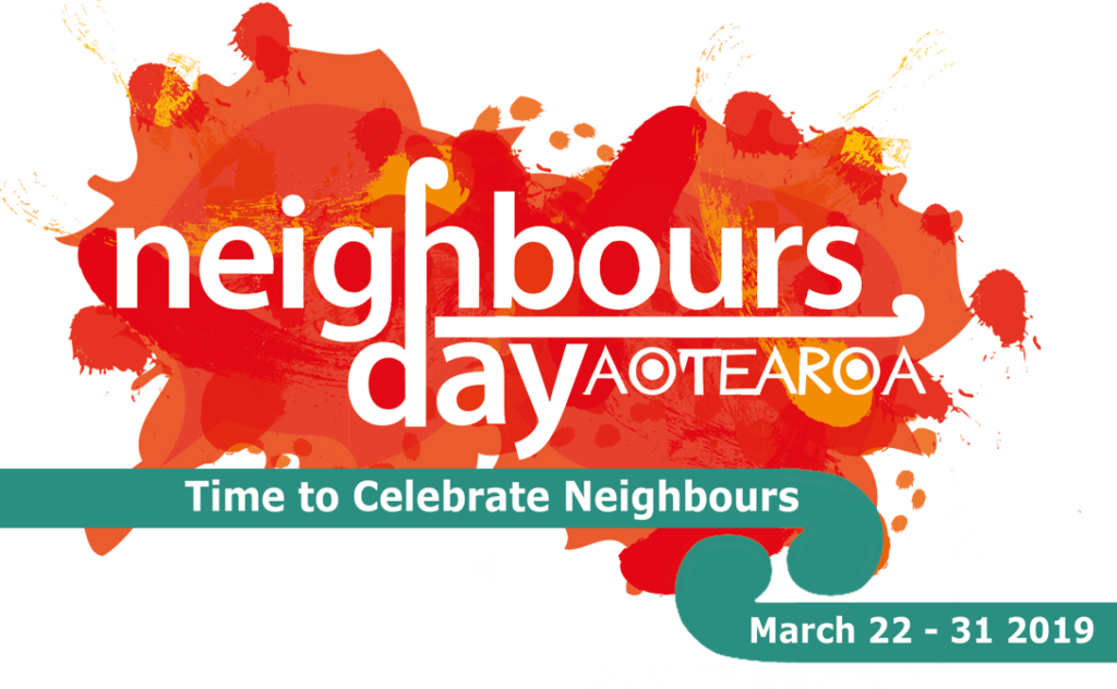 Neighbours' Day banner.